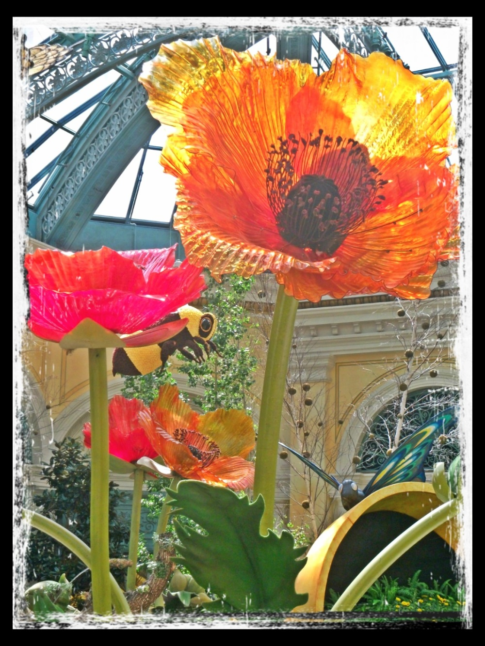 Giant flower at Bellagio